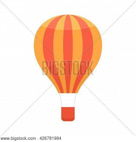 Transportation Air Balloon Icon. Flat Illustration Of Transportation Air Balloon Vector Icon Isolate