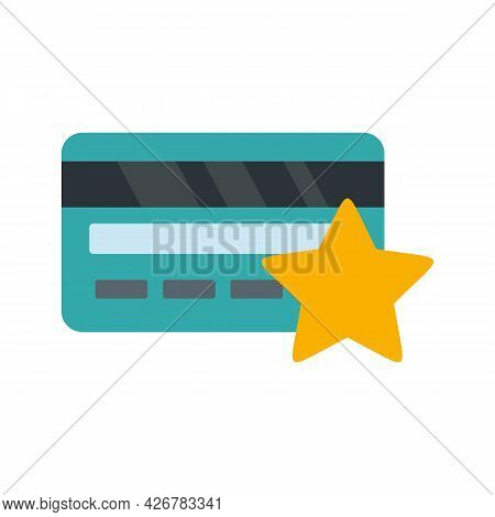 Loyalty Card Icon. Flat Illustration Of Loyalty Card Vector Icon Isolated On White Background