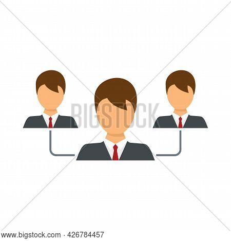 Customer Relationship Icon. Flat Illustration Of Customer Relationship Vector Icon Isolated On White