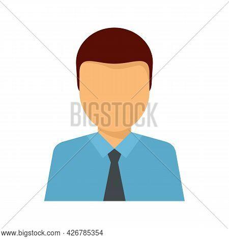 Lawyer Avatar Icon. Flat Illustration Of Lawyer Avatar Vector Icon Isolated On White Background