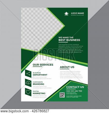 Promotional Modern Business Flyer Design Template Vector