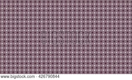Abstract Kaleidoscope Motion Background With Rows Of Tiny Circles Blinking Fast And Changing Color.