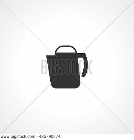Electric Kettle Icon. Electric Kettle Isolated Simple Vector Icon