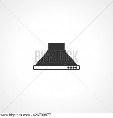 Extractor Hood Icon. Extractor Hood Isolated Simple Vector Icon