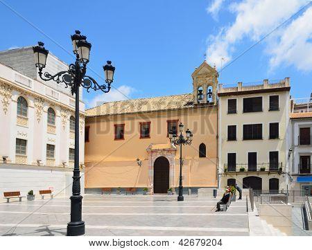 The Town Square In Montilla