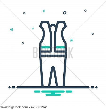 Mix Icon For Protective Cloth Mandatory Caution Clothing Danger Construction Protection Waistcoat Un