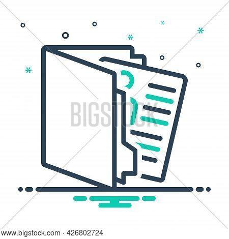 Mix Icon For Portfolio Presentation Infographic Template Identification Design Creative Advertising