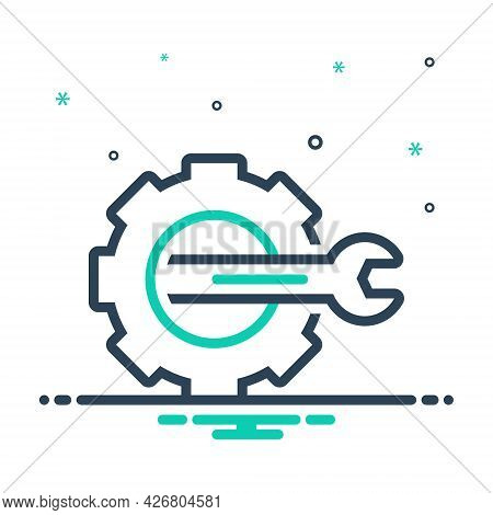 Mix Icon For Config Customize Setting Configuration Repair Cobalt Cogwheel Cogs Engineering Settings