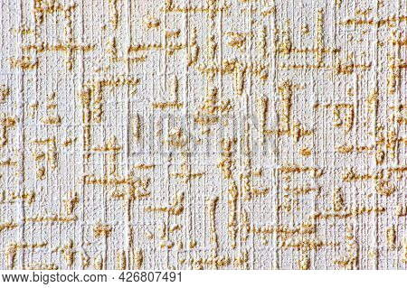 Image Embossed Abstraction  From Horizontal And Vertical Strokes