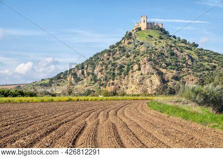 Castillo Almodovar Del Rio - 8th Century Moorish Origin Hilltop Castle In Province Of Cordoba, Spain