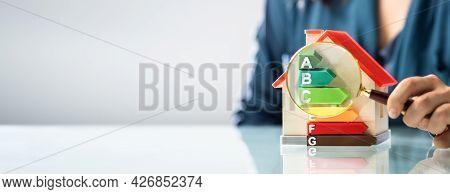 House Energy Efficiency. Green Energy Audit And Saving