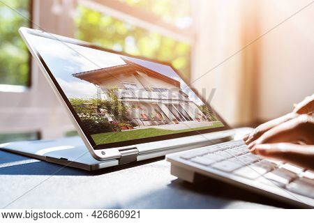 Real Estate House Online Property Search Using Technology