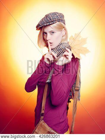Autumn Dress. Autumn Happy People And Joyhello November. Advertising Agency. Autumnal Foliage. Hello