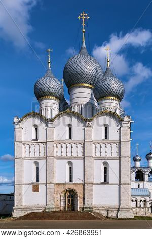 Assumption Cathedral In Rostov Kremlin In Russia