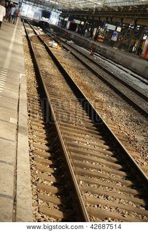Train's tracks