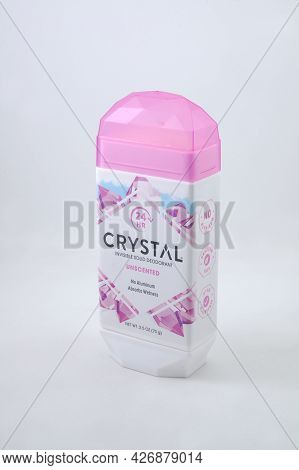 Manila, Ph - July 14 - Crystal Deodorant On July 14, 2021 In Manila, Philippines.