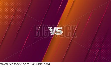 Abstract Gaming Battle Background Design With Modern Luxury Ray Style. Combat Background