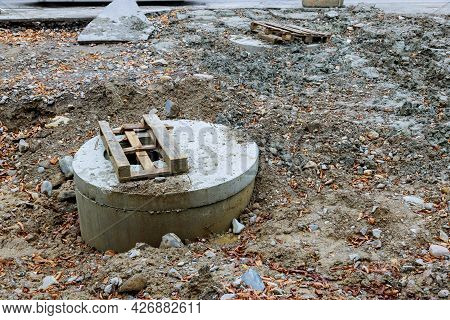 Repair Of City Supply Sewerage, Replacement Manhole Sanitary Sewer, Drain Systems Repair Of Roads