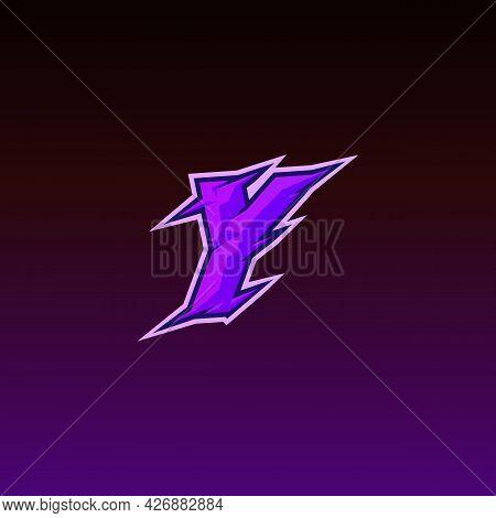 Initial Y Gaming Esport Logo Design Template Inspiration