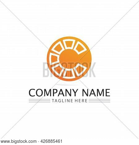 C Logo For Vitamin And Font C Letter Identity And Design Business