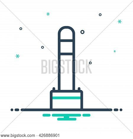 Mix Icon For Bollard Buoy Anchor Mooring Vessel Barricade  Safety Construction
