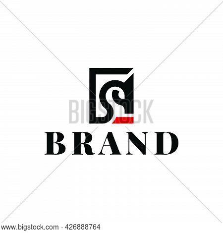Simple Logo Of Knight Horse Company Ready To Use. Logo Design Vector Template. Modern Logo Concept.