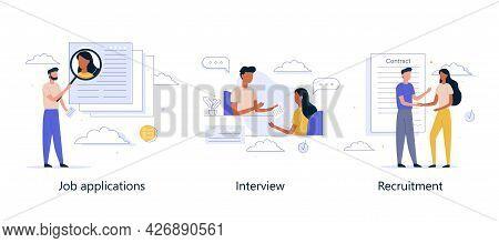 Job Search, Recruitment, Workgroup, Freelance, Online Hiring, Web Graphic Design. Virtual Job Fair.