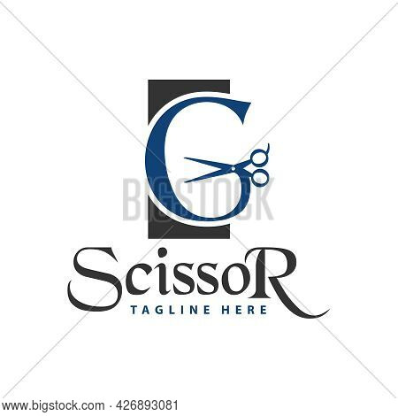 Haircut Inspiration Logo Design With Letter G