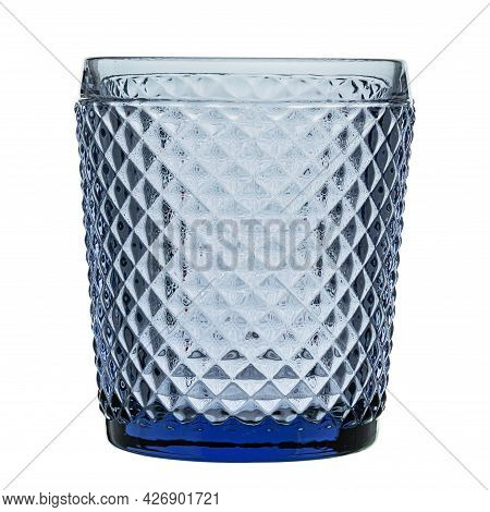 Empty Glass For Drinking Water, Juices, Milk And Various Drinks. File Contains Clipping Path.