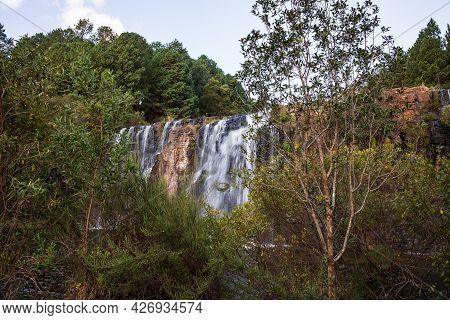 Forest Falls Of The Mac Mac River Near Sabie, Mpumalanga, South Africa