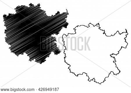 Middle Franconia (federal Republic Of Germany, Administrative Division, Region Free State Of Bavaria
