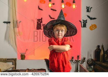 Witch Hat. Best Ideas For Halloween. Secrets Of Magic For Happy Halloween. Happy Halloween Quotes Fo