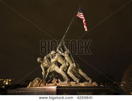 The Marine Corps War Memorial Washington Dc