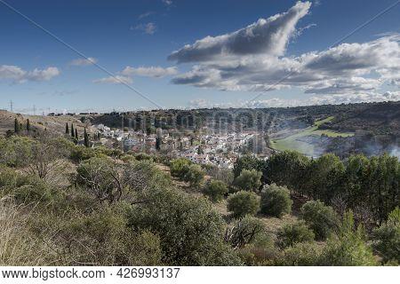 Views Of Olmeda De Las Fuentes, A Small Village In The Province Of Madrid, Spain