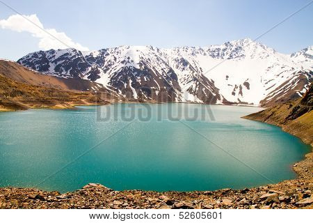 Cajon del Maipo canyon and Embalse El Yeso