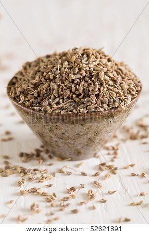 Closeup Of Anis Seeds