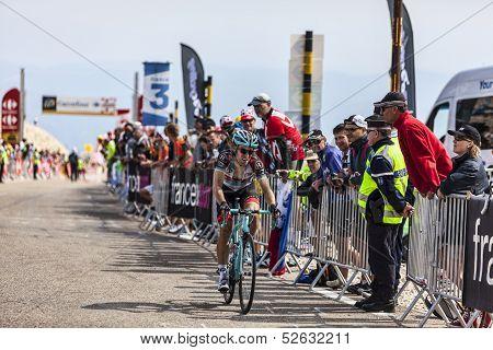 The Cyclist Jan Bakelants