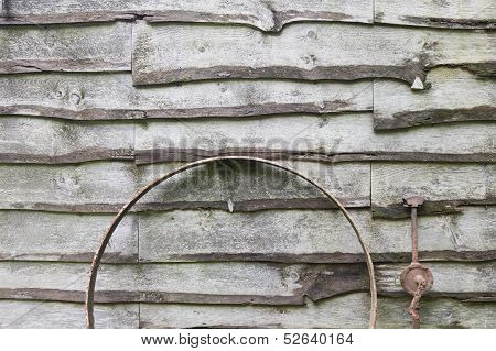 Rural Wood Shed