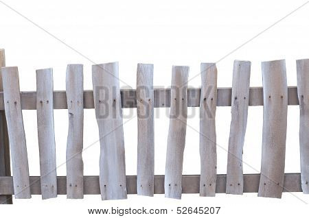 Rustic Picket Fence