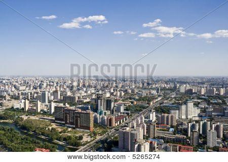 Bird's Eye View Of Beijing