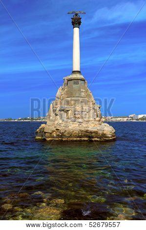 Sunken Ships Monument In Sevastopol