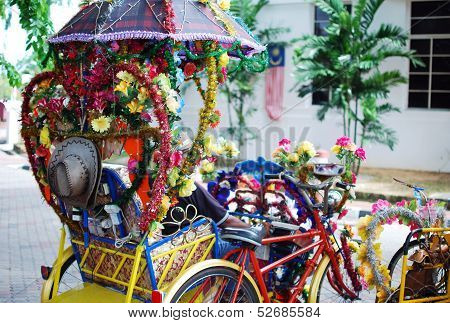 Colorful Trishaw
