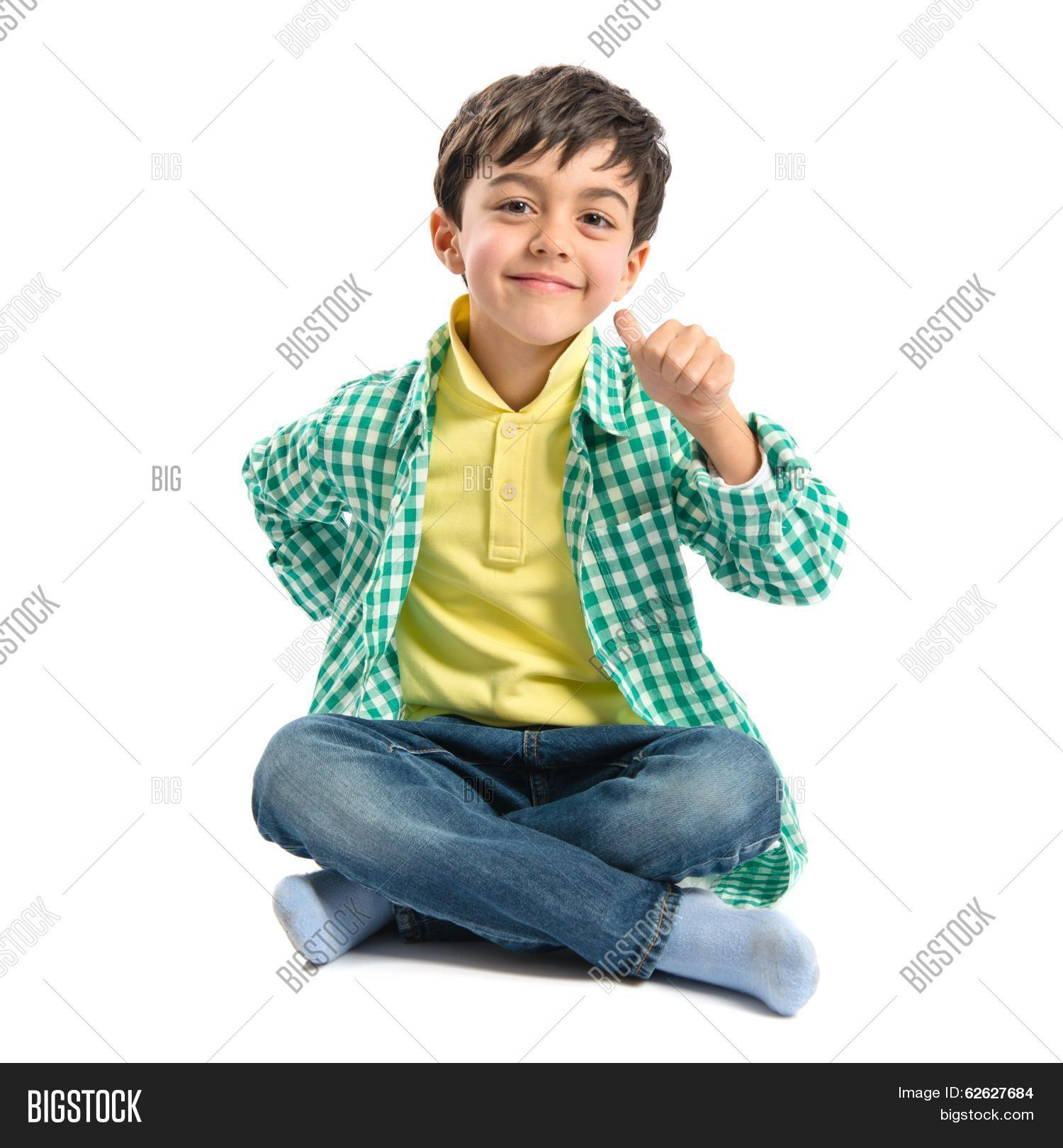 890790f10e Boy Making Ok Sign On Image & Photo (Free Trial) | Bigstock