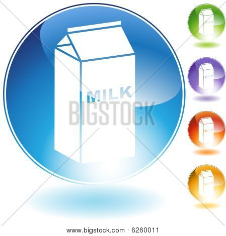 milk crystal icon