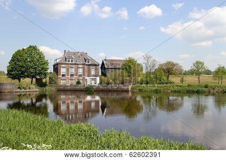 Government building in Kinderdijk, The Netherlands