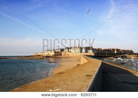 Landscape of Saint Malo