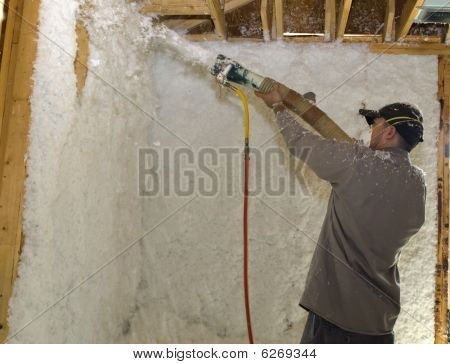 Blowing Insulation - Direct Aim