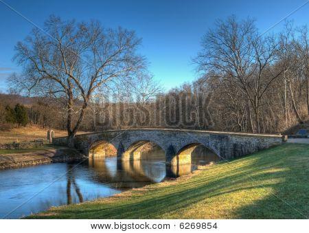 Burnside's Bridge In Sharpsburg, Maryland