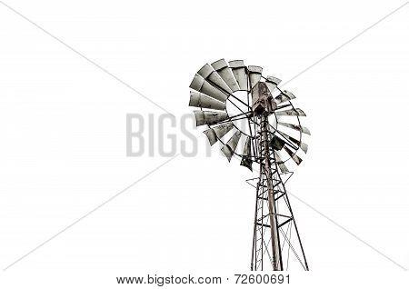Viterbo,italy-december,20,2013:old Windmill