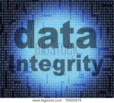 Data Integrity Meaning Honourable Knowledge And Facts poster